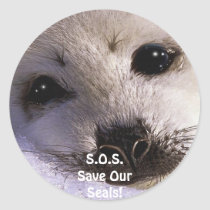 S.O.S. SAVE OUR HARP SEALS