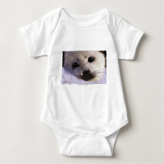 S.O.S. SAVE OUR HARP SEALS BABY BODYSUIT