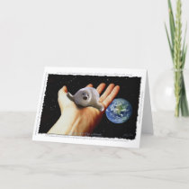 S.O.S. SAVE OUR HARP SEALS Greeting Card