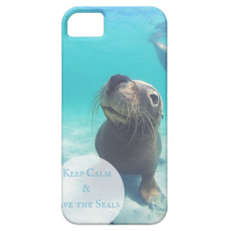 S.O.S ~ Save Our Seals Case For The iPhone 5