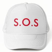 S.O.S TRUCKER HAT