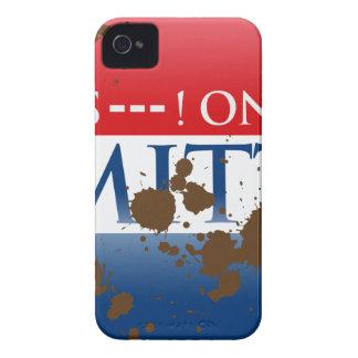 S--- ON MITT iPhone 4 Case-Mate CASE