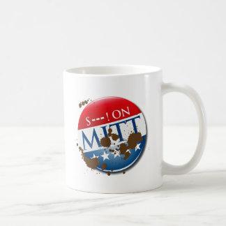 S--- ON MITT CLASSIC WHITE COFFEE MUG