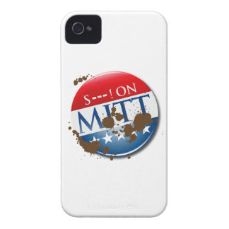 S--- ON MITT -.png iPhone 4 Case-Mate Cases