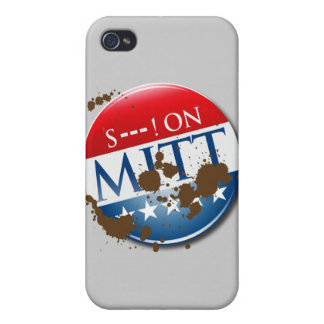 S--- ON MITT -.png Case For iPhone 4