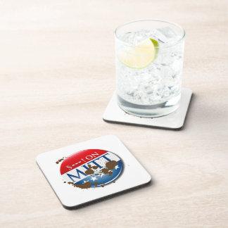 S--- ON MITT -.png Beverage Coasters