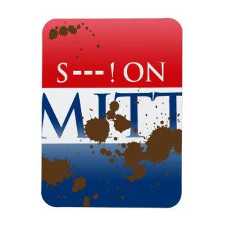 S--- ON MITT RECTANGULAR PHOTO MAGNET
