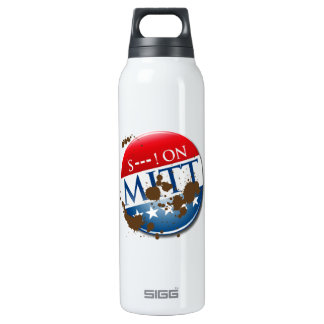 S--- ON MITT 16 OZ INSULATED SIGG THERMOS WATER BOTTLE