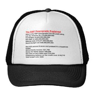 S&P Downgrade Explained Trucker Hat