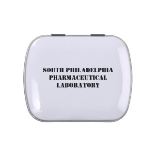 S.P. Pharmaceutical Laboratory Jelly Bean Tin Jelly Belly Tin