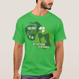 S. Patrick's Day None Of My Business Tee