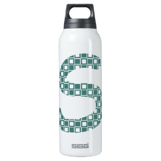 S Patterned Insulated Water Bottle