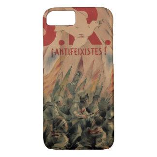 S. R. I. Antifascist! Think of_Propaganda Poster iPhone 8/7 Case