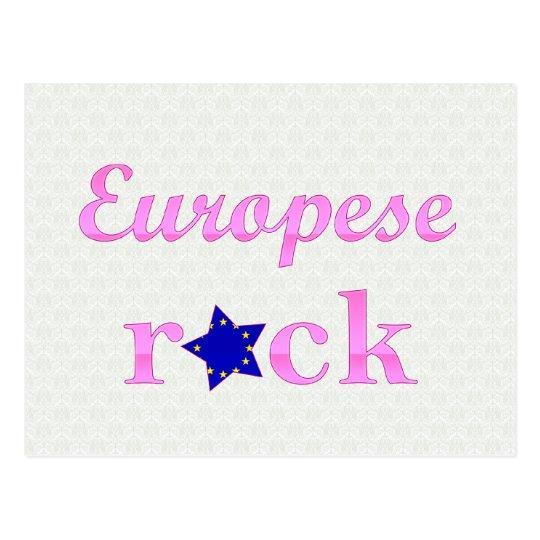s Rock - Cute Pink Postcard