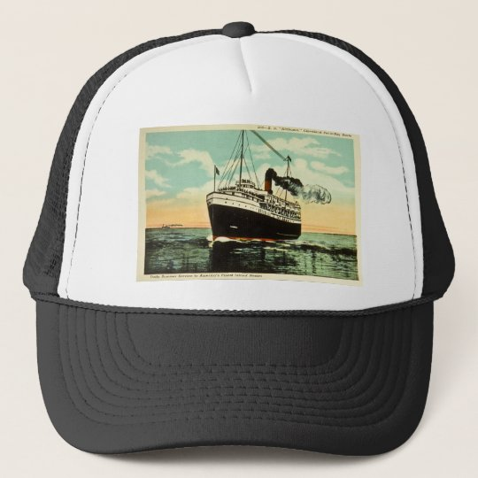 S.S. Alabama, Cleveland Put-In-Bay Route Trucker Hat