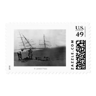 S.S. Alice McDonald Wreck Ilwaco Peninsula Postage