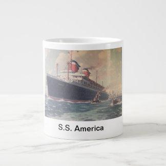 """S.S. América 1940 "" Taza Grande"