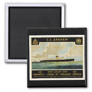 S.S. Arnhem - Luxury Liner - Holland Magnet