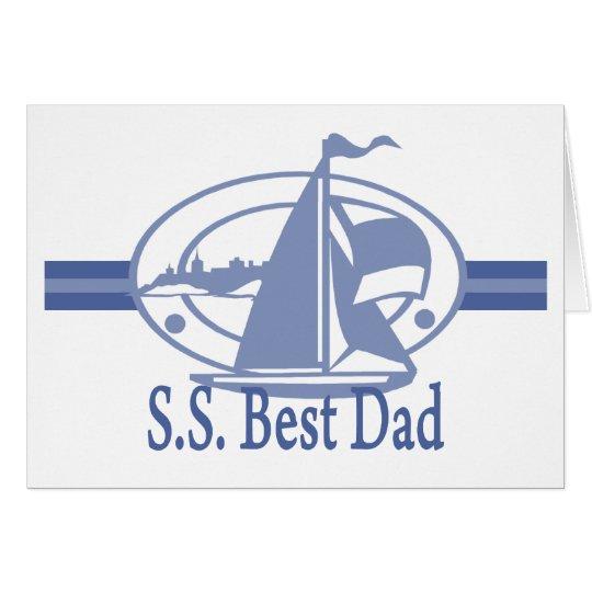 S.S.Best Dad SAIL Card