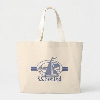 S.S.Best Dad SAIL Tote Bag