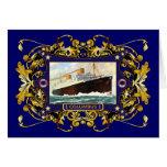 S.S. Buque de pasajeros del buque de vapor del vin Felicitacion