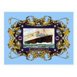 S.S. Buque de pasajeros del buque de vapor del vin Postales