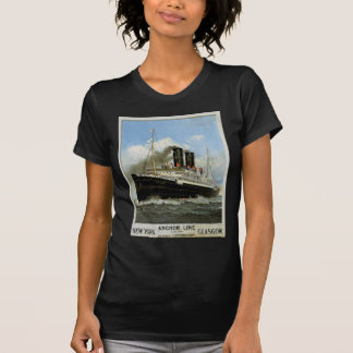 S.S. Caledonia - New York to and from Glasgow T-Shirt