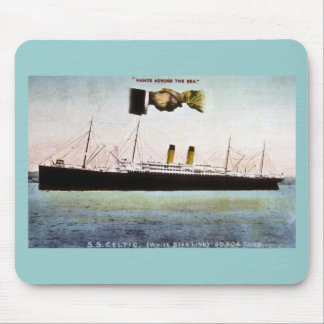 S.S. Celtic (White Star Line) 20,904 Tons Mouse Pad