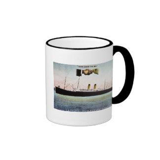 S.S. Celtic (White Star Line) 20,904 Tons Ringer Coffee Mug