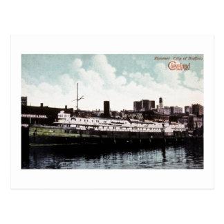 S.S. City of Buffalo Postcard