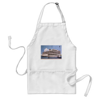S.S. Columbia of Bob-Lo Excurison Co. Post Card Adult Apron