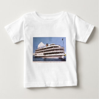 S.S. Columbia of Bob-Lo Excurison Co. Post Card Baby T-Shirt