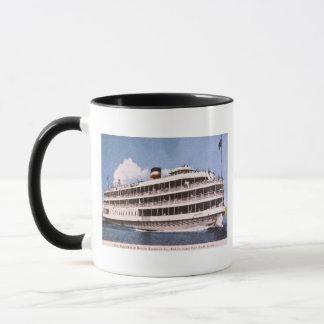 S.S. Columbia of Bob-Lo Excurison Co. Post Card Mug