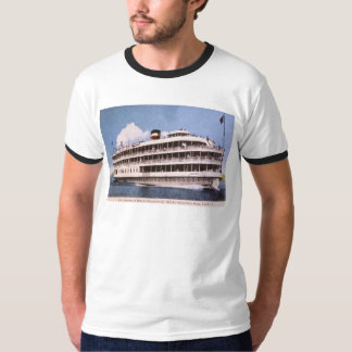 S.S. Columbia of Bob-Lo Excurison Co. Post Card T-Shirt