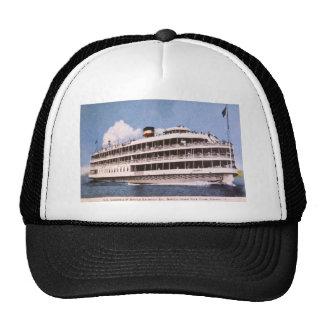S.S. Columbia of Bob-Lo Excurison Co. Post Card Trucker Hat