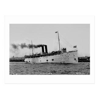 S.S. Eastland as photographed by Pesha Postcard Co