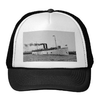 S.S. Eastland as photographed by Pesha Postcard Co Trucker Hat