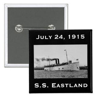 S.S. Eastland según lo fotografiado por la postal  Pin