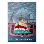 S.S. EDMUND FITZGERALD POSTER