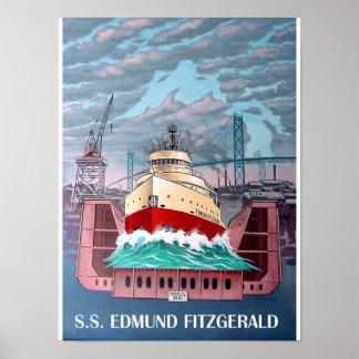 S.S. FITZGERALD DE EDMUND PÓSTER