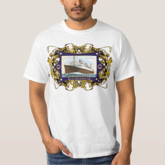 S.S. Manhattan Vintage Steamship Ship T-Shirt
