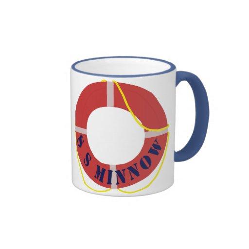 S. S. Minnow Life Ring Mug