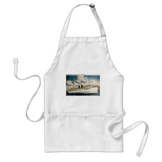 S.S. New York on Eastern S.S. Lines, Incorporated Adult Apron