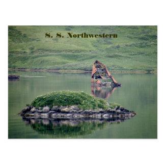 S. S. Northwestern, Unalaska Island Postcard