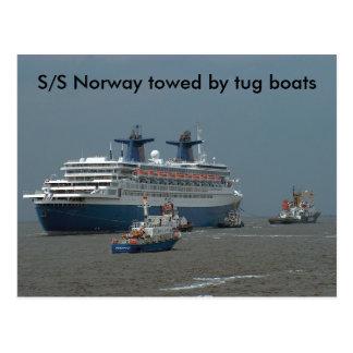 S/S Norway Postcard