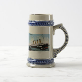 S.S. Olympic Star, White Star Line, 1913 18 Oz Beer Stein