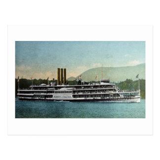 S.S. Robert Fulton - Hduson Riv er Day Line Postcard