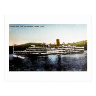 S.S. Robert Fulton - Hudson River Day Line Postcard