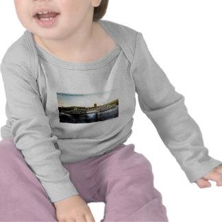 S.S. Robert Fulton - línea del día del río Hudson Camiseta