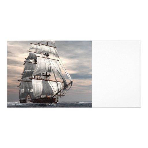 S S Savannah Customized Photo Card